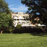 Back of The Aurora Inn