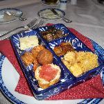 Spanish restaurant appetizer