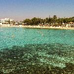 Nissi Beach, water was as clear as the Maldives