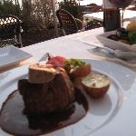 Steak with Foie Gras