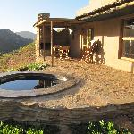 "The ""stoep"" with the plunge pool."