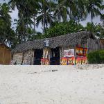 Shop along the beach