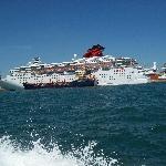you will see lotsa ships like this!
