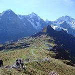 Path towards Kleine Scheidegg