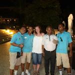 The awesome pool bar staff