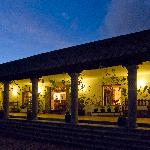 Hacienda Zuleta at night