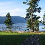 Quaaout - view to Little Shuswap Lake