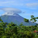 Cabin with Arenal Volcano