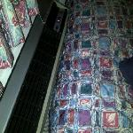 AC on bed
