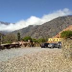Vista desde Purmamarca al cerro