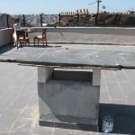unfertige Terrasse
