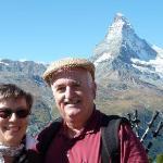 Blauherd mit Blick aufs Matterhorn