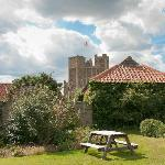 Corwn and Castle - view from garden room