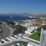probably the best view in Mykonos