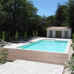 grande piscine de 14X6m