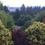 Aussicht vom Rose Testen Garten auf Portland