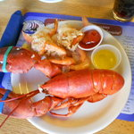 Yummy, Lobster at The Nordic Lodge