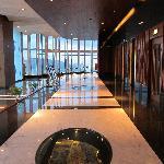 Lift interchange floor