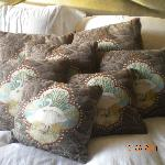 lots of cushions