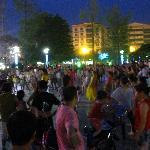 belly dance groups at Tai Bai Plaza