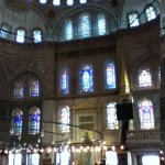 close to the blue mosque