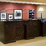 Welcome to the Hampton Inn & Suites - Front Desk