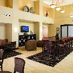 Come enjoy a hot cup of coffee while relaxing in our lobby.