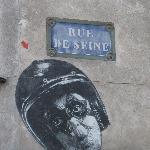 rue de Seine art