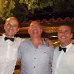 me & 2 waiters
