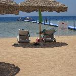 beach and pontoon
