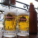 Very Cold Beers: In Iquitos are like water in the desert.