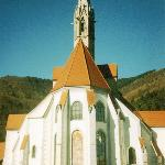 The front of the Church