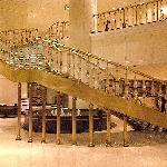 the imposing main lobby hall
