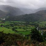 Borrowdale from Grange Fell