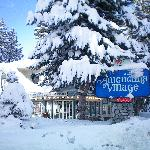 Winter at the Americana Village