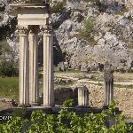 Glanum ruins near St. Remy