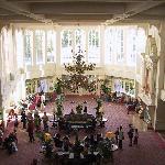 L'hall dell'hotel