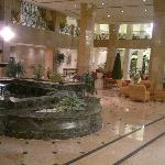 Part of the hotel lobby area