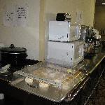 Food Station for Breakfast, Bricktown hotel & Convention Center, Oklahoma City, OK