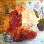 Painting in Restaurant
