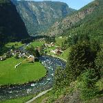 Roaring river on the way back from Fram to Myrdal