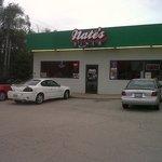 Exterior of Nate's Diner