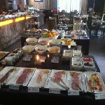 full buffet breakfast