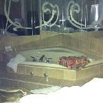 jacuzzi tub...so relaxing!
