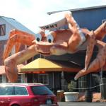 The entrance to The Giant Crab