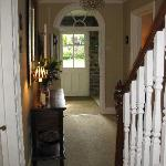 hallway leading to  conservatory