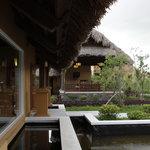 Spa and organic garden