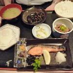和食の朝食の場合