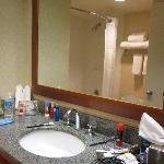 Standard size bathroom