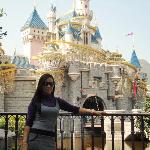 The Sleeping Beauty Castle in my background